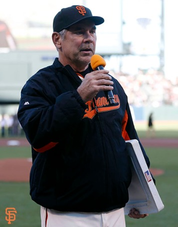 San Francisco Giants, S.F. Giants, photo, 2014, Tony Gwynn, Bruce Bochy